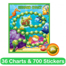 Reward Chart & Sticker Sets