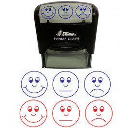 Faces Design Stamps