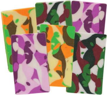 Party Bag Fillers | Camoflage Erasers