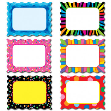 Classroom Display Cut Outs | Designer Poppin Patterns Labels