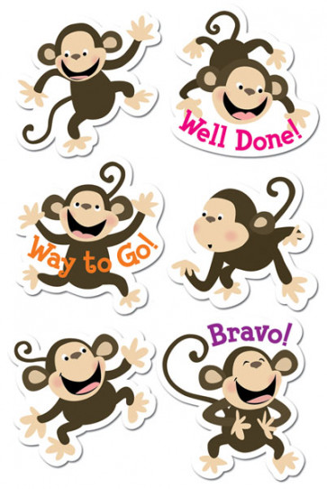 Kids Stickers | Monkey Fun Praise Stickers