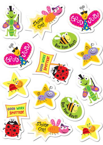 Childrens Stickers | Cool Bugs Praise & Reward Stickers