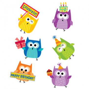 Birthday Stickers | Happy Birthday Owl Kids Stickers