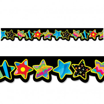 Display trimmers / borders | Poppin Patterns Stars