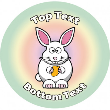 Personalised Stickers for Kids | Ready Rabbit Design to Customise for Teachers
