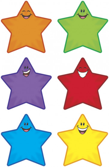 Classroom Display | Star Smiles Accent Cards