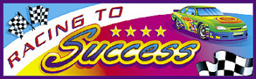 Racing to Success Kids Bookmark