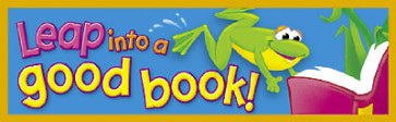 Kids Bookmarks | Leap into a Good Book Bookmarks