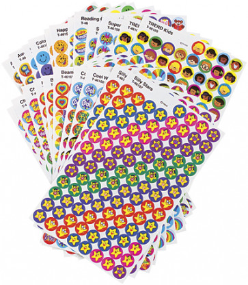 Positive Praisers Kids Reward Stickers