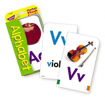 Alphabet Flash Cards Educational Game