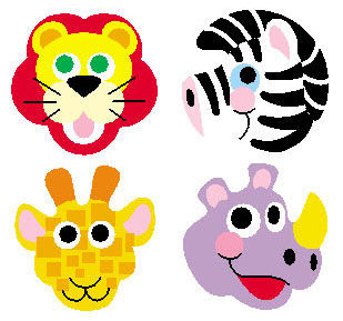 Zoo Animal Kids Stickers | Stickers for Children