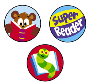 Reading Celebration Reward Stickers for the Classroom