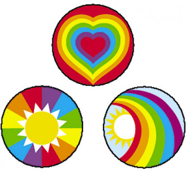 Beaming Rainbows Reward Stickers for use by Teachers in the Classroom