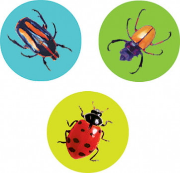 School Stickers |Busy Bugs Childrens Stickers - Great for school, home and crafts too!