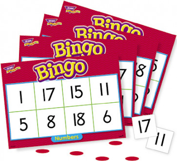 Numbers Bingo Maths Games for Kids