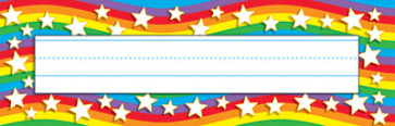 Writing Practice | Star Rainbow Name Plates