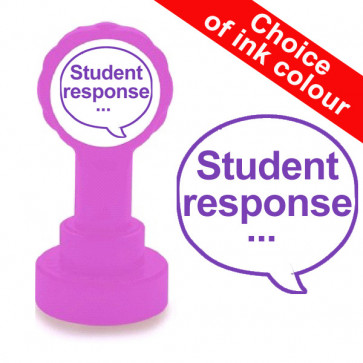 Teacher Stamps | Student response... (For use with Verbal Feedback)