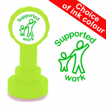 School Stamps | Supported work Teacher Stamp