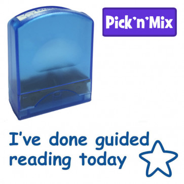 School stamps | I've done guided reading today, Value Stamp
