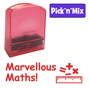 School stamps | Marvellous Maths! Design Value Stamp