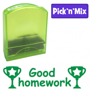 Teacher Stamp | Good homework, teacher praise self-inking stamp