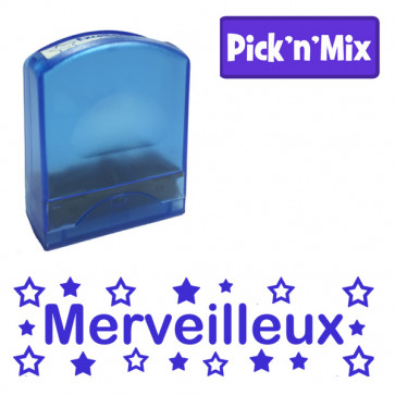 Teacher Stamps | Merveilleux Self-inking. Reinkable Value Range