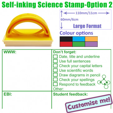 Teacher Stamps | Science marking checklist, WWW, EBI and feedback stamper