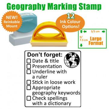 School Stamp | Geography Marking Stamp