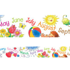 Display trimmers / borders | Months of the Year Calendar Trimmers for Classroom Displays