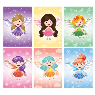 Low Cost Gifts | Fairy Small Notepads