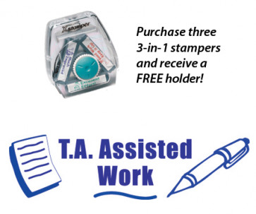Teacher 3-in-1 Stamper | T.A. Assisted Work