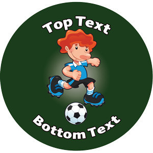 Personalised Stickers for Kids | Football Designs to Customise for Teachers