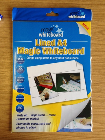 School Resources | Mini Whiteboard, Magic Whiteboard A4 Sheets