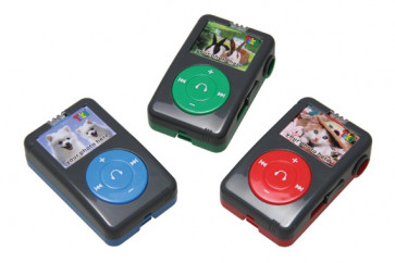 Class Gift & Prizes | MP3 Player Shaped Sharpener - Great as stocking or party bag fillers too!