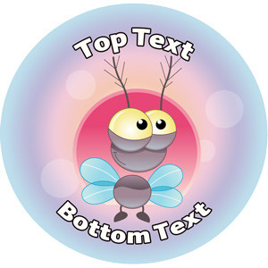 Personalised Stickers for Teachers | Flymania Alien Design to Customise for Kids
