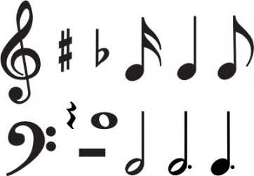 Music Symbols Classroom Display Cards