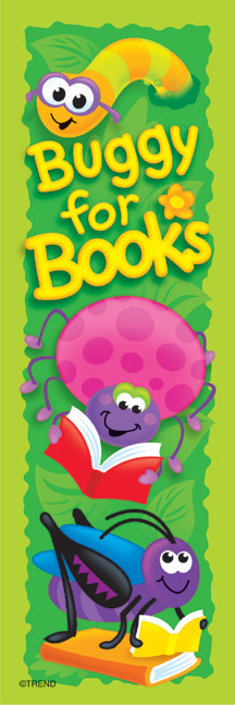 Bugs and Books Bookmark