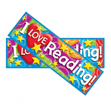 I Love Reading! School Bookmarks