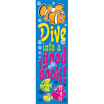 Kids Bookmarks | Teacher pack of 36 - Dive into a good book! Reading Rewards for School
