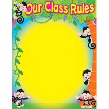 Children's Wall Charts |Class Rules