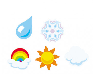 Reward SuperShape Stickers | Weather designs for Teachers