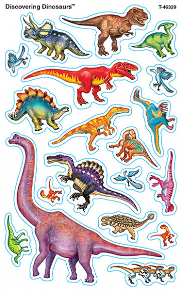 Kids Stickers | Awesome Dinosaur Shaped Kid's Stickers