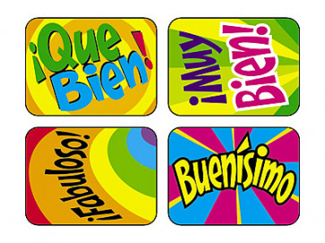 Reward Stickers | Fabuloso Spanish Stickers for Children