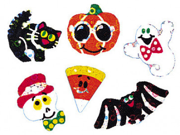 Kids stickers | Halloween Sparkles