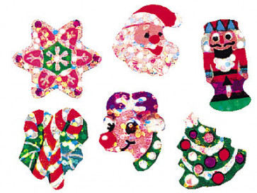 Childrens stickers | Sparkle Christmas Joys Stickers