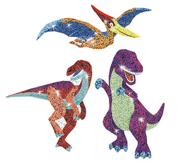 Kids Stickers |Dazzling Dinos Shiny Kid's Animal Stickers