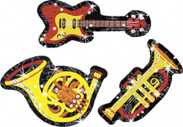 Kids Sparkle Music Stickers
