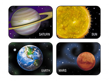 Kids Stickers | 100 Planets and Sun Stickers for School