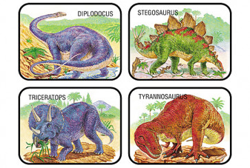 Dinosaurs Kids Stickers for School