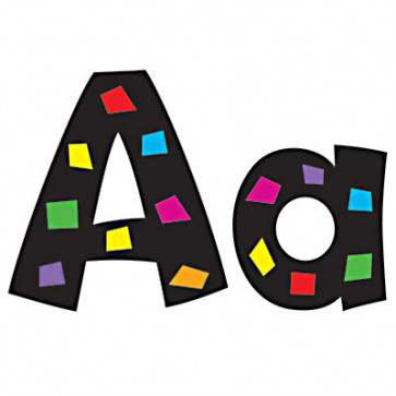 Alphabet Display Letters